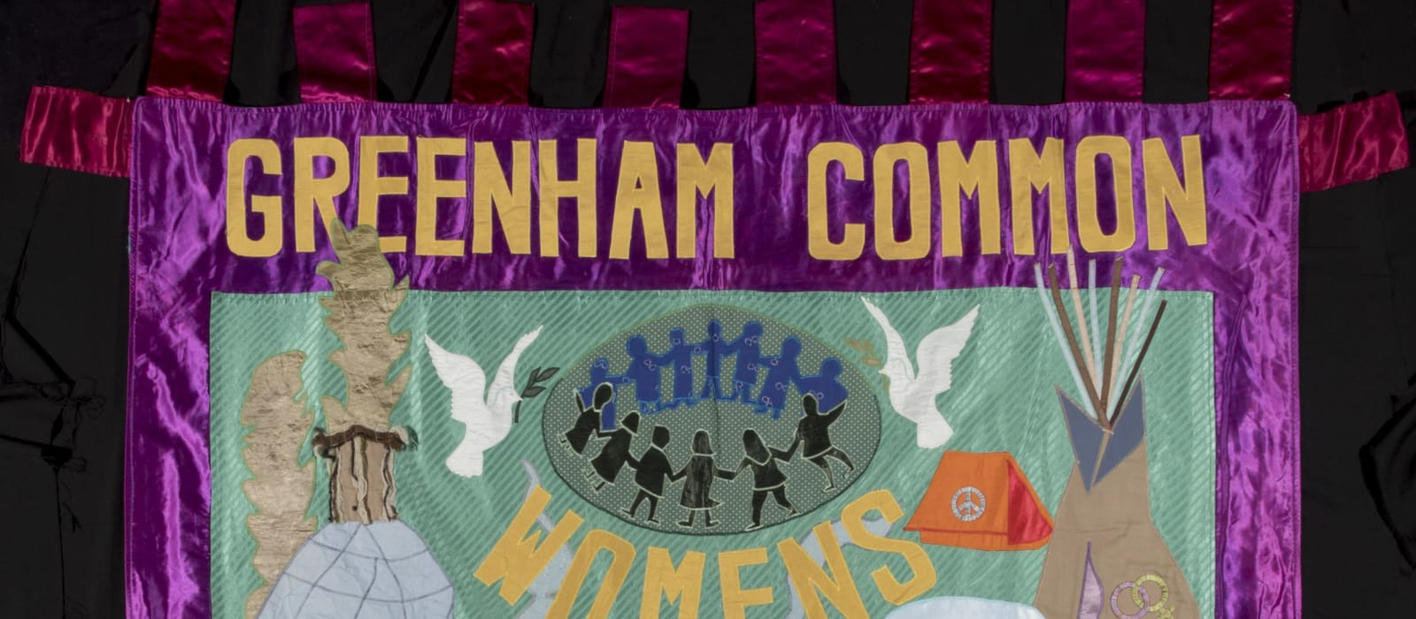 2020 Objects of Peace: The Greenham Common Banner