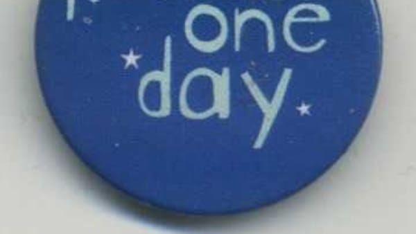 'Peace One Day' badge